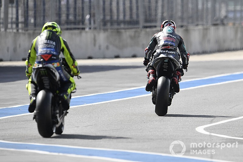 Campeonato después de Motegi: Quartararo adelanta a Rossi