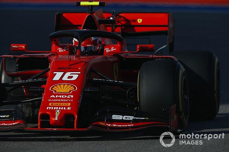Fotogallery F1: Leclerc firma la pole anche a Sochi