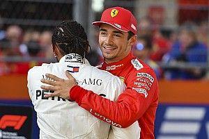 Leclerc, sorprendido por su cuarta pole seguida en territorio Mercedes