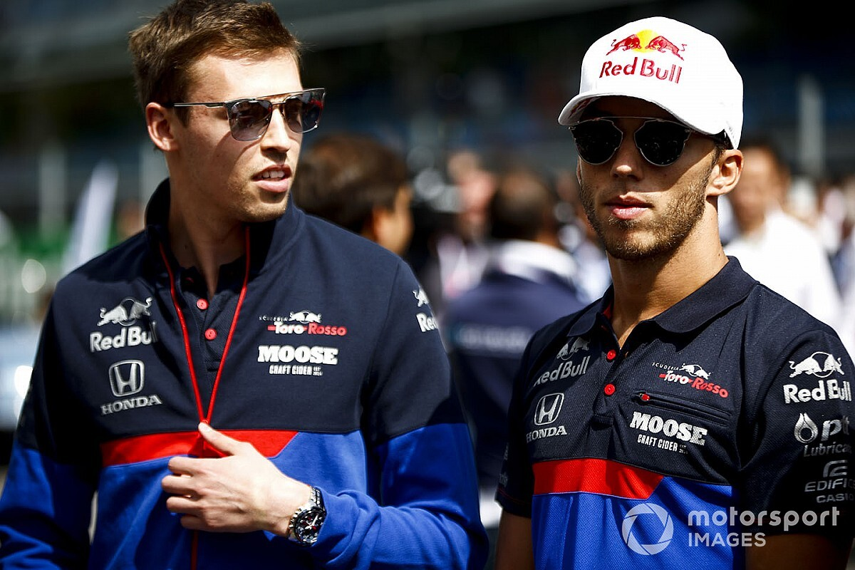 HIVATALOS: Gasly és Kvjat 2020-ban a Toro Rosso versenyzője marad