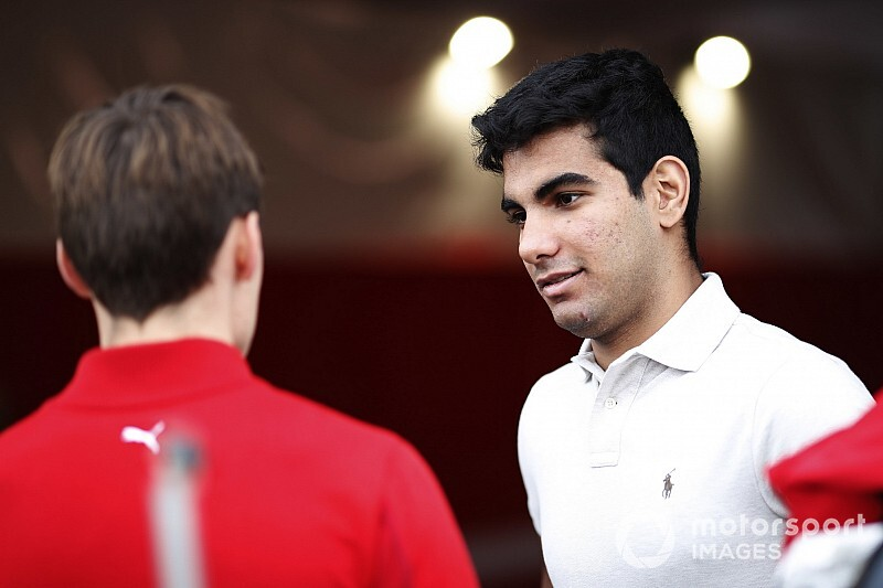 El nuevo junior de Red Bull desembarca en la Fórmula 2
