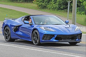 Chevrolet Corvette C8 spied with no camo on public roads
