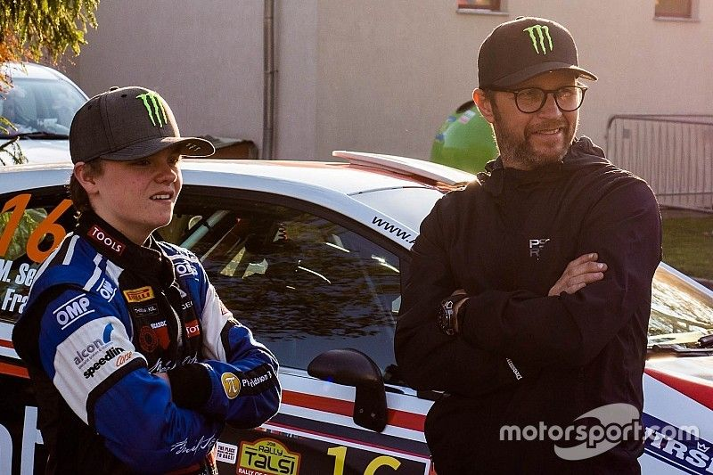 Petter Solberg se retirará en el Rally de Gales en el debut su hijo