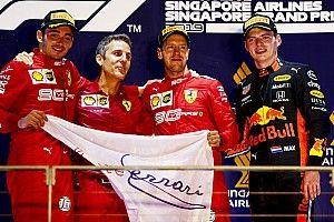 Internationale media over Verstappen (en Vettel) in Singapore