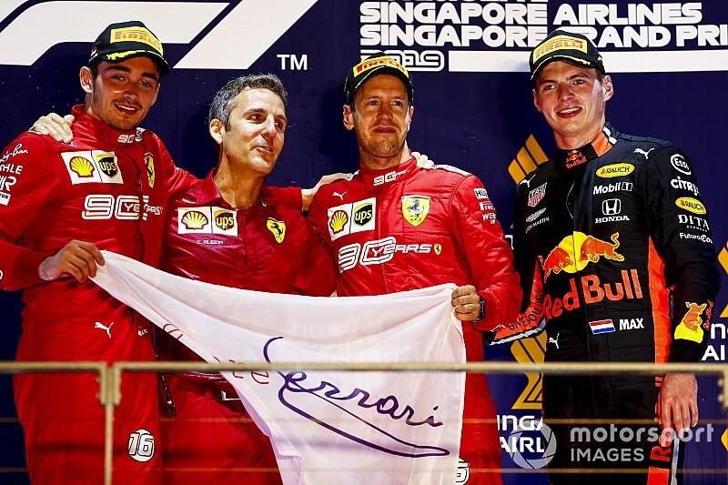 新加坡大奖赛:维特尔依靠策略击败莱科勒克,终于打破胜利荒