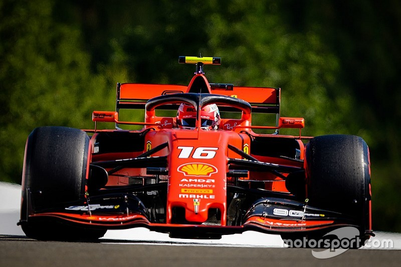 Belgian GP: Leclerc quickest in FP3 as Hamilton crashes