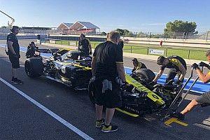 Pirelli: ecco il primo test F1 con le 18 sulla Renault