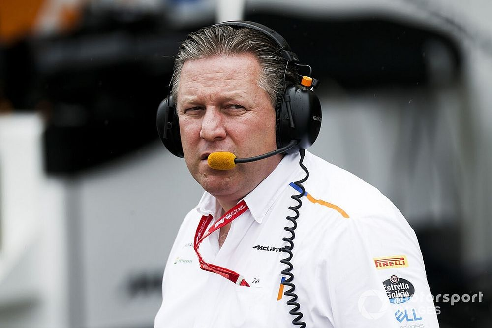 Customer F1 cars offer should be free - Brown