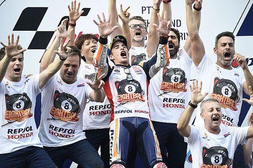 Látványos galéria Marquez nagy bajnoki ünnepléséről: minden idők legjobbja?
