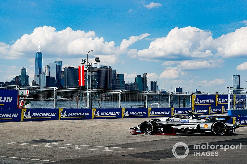 ニューヨークePrixレース1:日産FE初優勝。ブエミが栄冠もたらす