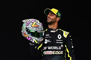 Ricciardo explique le design de son casque et sa création