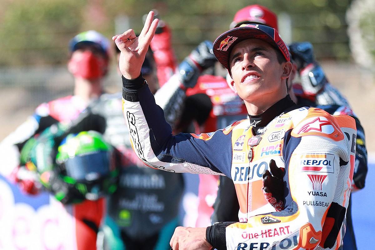 Márquez, rumbo a Jerez, quiere correr el domingo