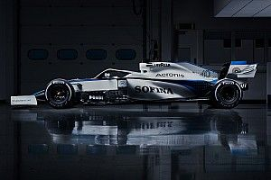Williams показала новую ливрею. Она почти белая
