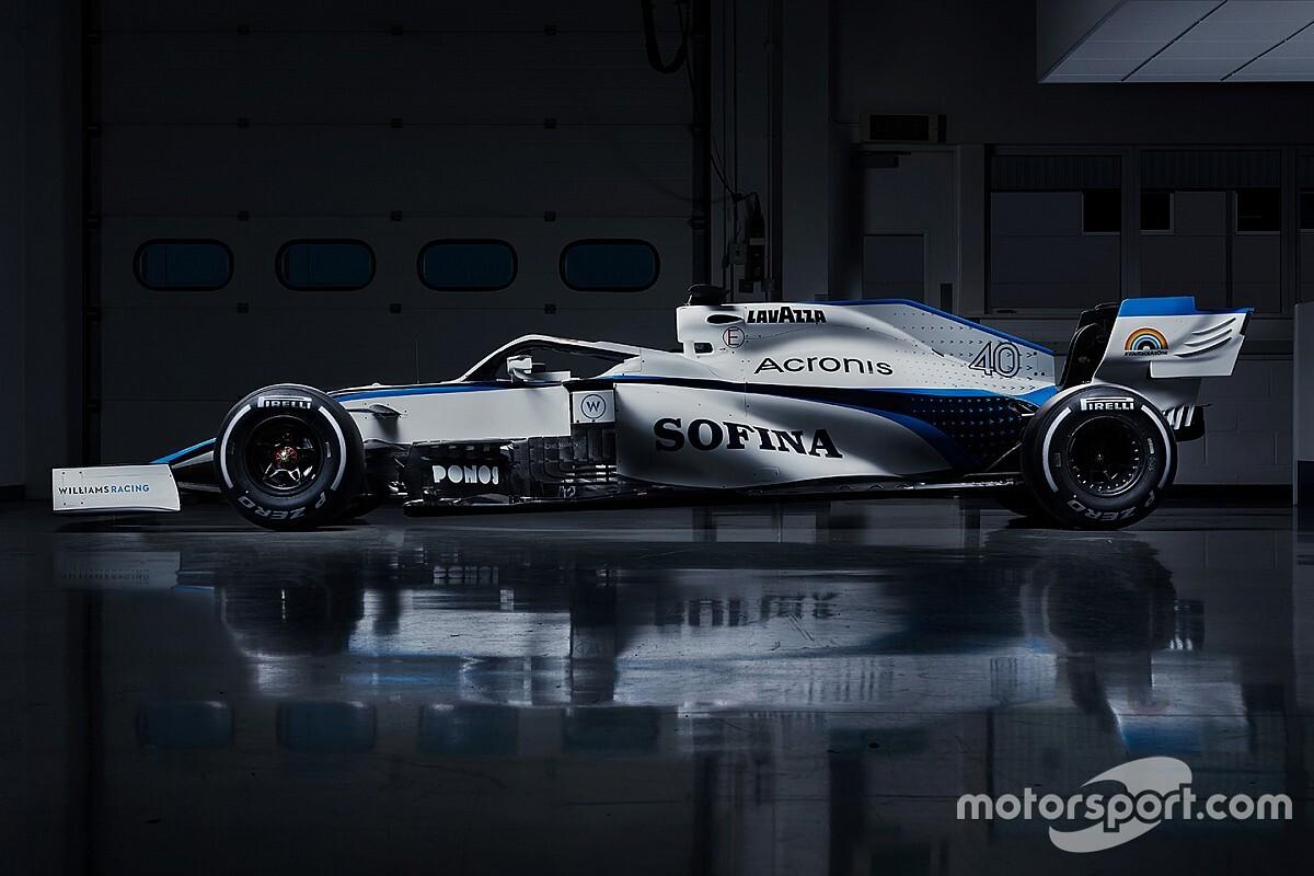 Művészi videón a Williams új F1-es festése