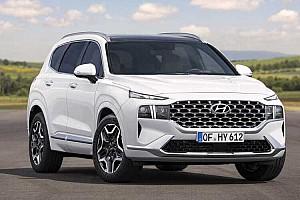 Frissítéshez képest meglepően sok újdonsággal jelentkezett az új Hyundai Santa Fe
