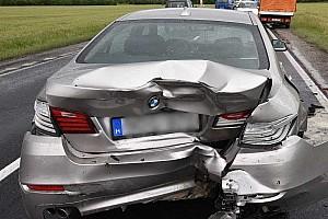 30 perccel a vásárlás után törtek össze egy BMW-t