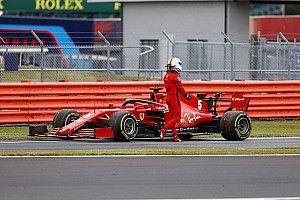 """Vettel: """"Motoru analiz için Maranello'ya göndereceğiz"""""""