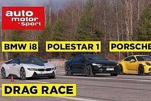 Videó: Mire elég a Polestar 600 lóereje egy BMW és egy Porsche ellen?
