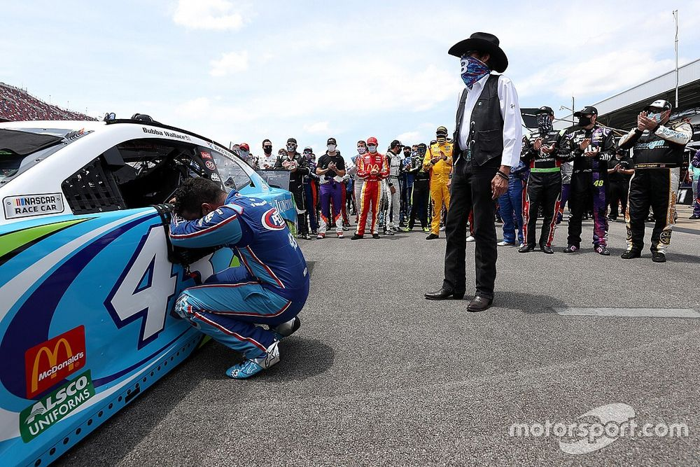 """Bubba Wallace after Talladega: """"This sport is changing"""""""