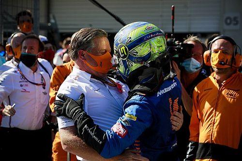"""Brown sprint yarış fikrini """"cesaret verici"""" bulurken, Norris temkinli yaklaşıyor"""