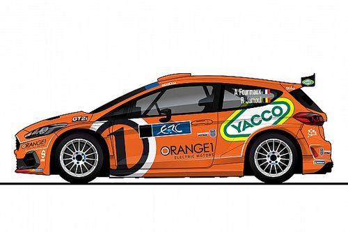 ERC: Adrien Fourmaux con la Fiesta di M-Sport Orange1 a Roma