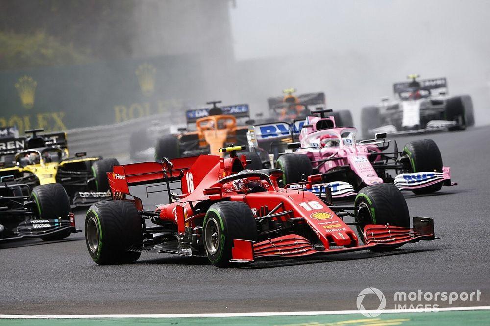 Положение в общем зачете Формулы 1 после Гран При Венгрии