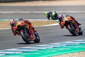 Pol Espargaró se ilusiona con el ritmo de KTM en Jerez
