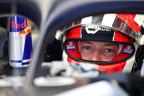 Квят показал новый шлем для Гран При 70-летия Ф1