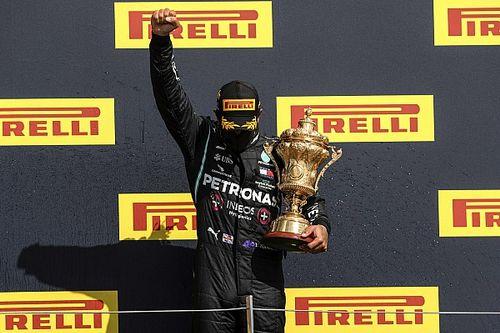 """Lewis Hamilton élu """"Pilote du Jour"""" du GP de Grande-Bretagne 2020"""