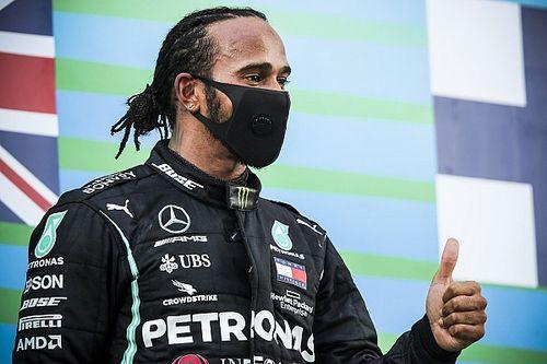 Komfortowy wyścig Hamiltona