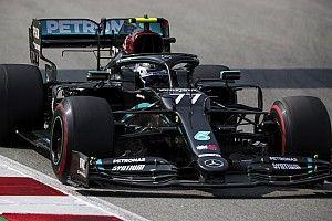 Belçika GP 1. antrenman: Bottas lider, Haas pilotları sorun yaşadı