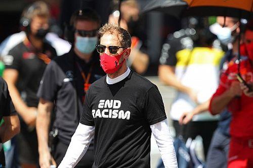 """Vettel: """"Boicottare i GP? No, corriamo uniti contro il razzismo"""""""