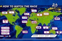 ESPN parmi les diffuseurs TV mondiaux des 24H du Mans virtuelles