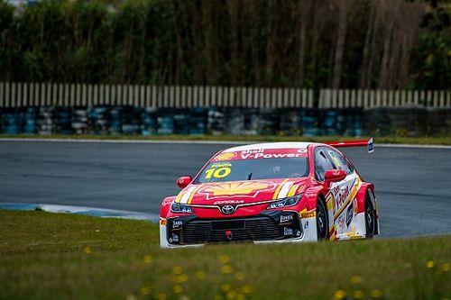 Ricardo Zonta mata a saudade de acelerar o Stock Car depois de seis meses