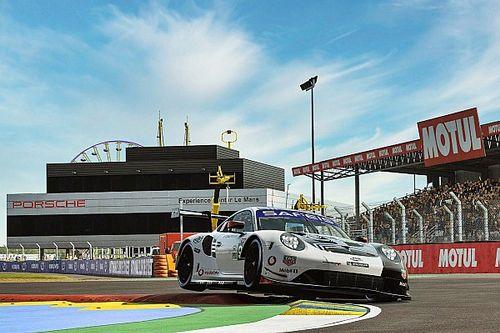 ¿Cuánto personal necesita Porsche para las 24H de Le Mans virtuales?