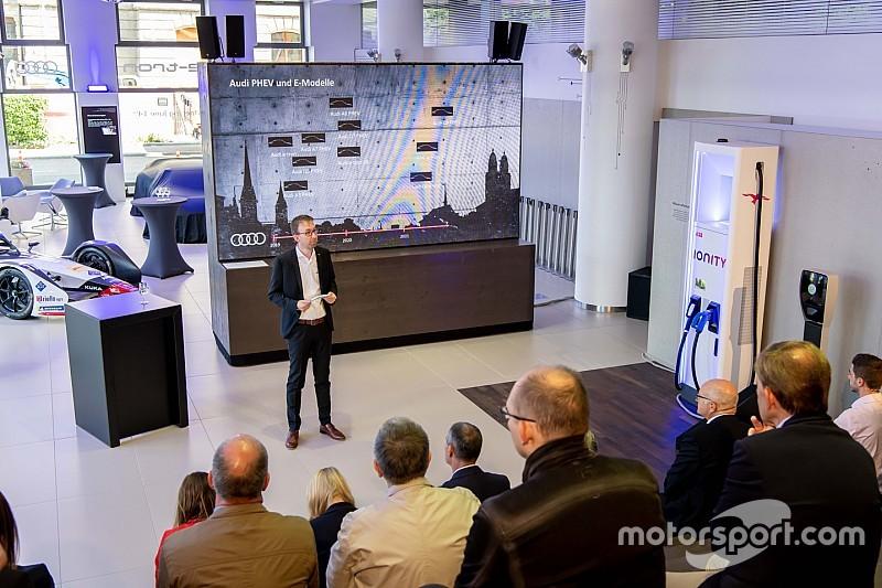 "Fotostrecke: Das Audi ""e-tron Experience Center"" in Zürich"