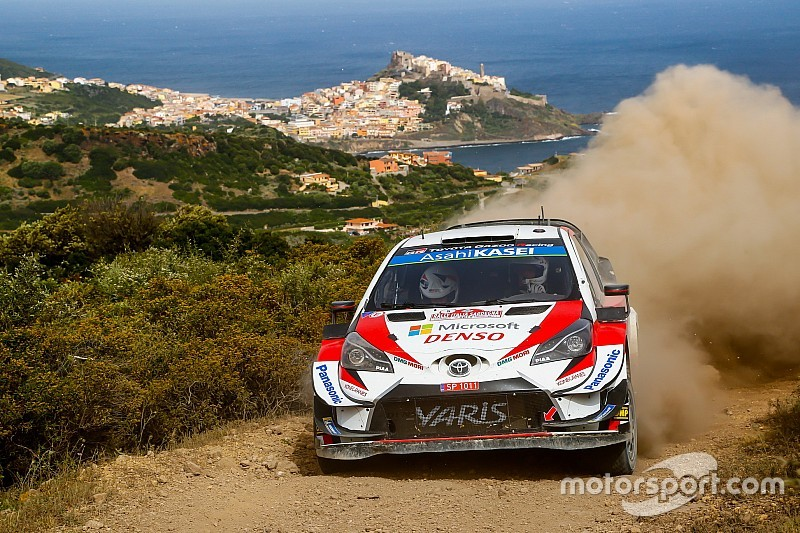 WRC, Rally Italia Sardegna, PS14: Tanak inarrestabile. Meeke vicino al 4° posto