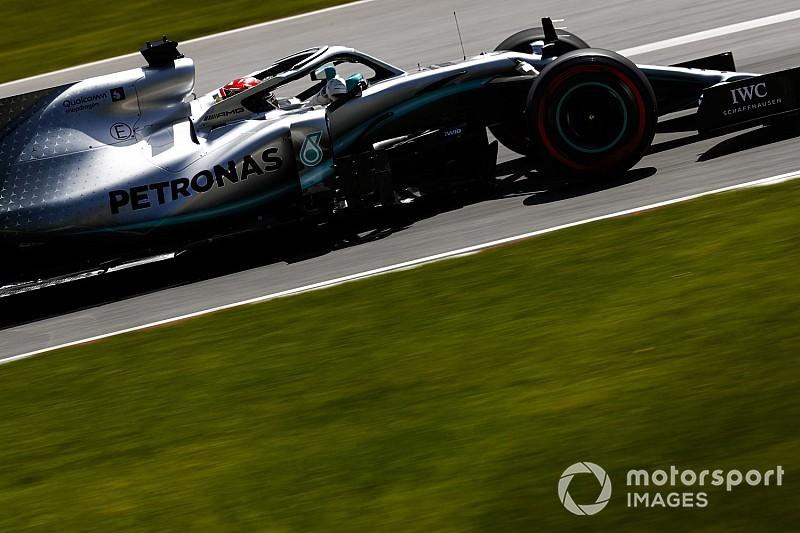 Mercedes blijft bij dezelfde motor na uitvalbeurt Stroll