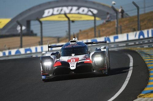 Le Mans test day: Buemi leads morning session for Toyota