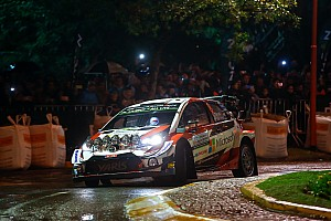 WRC Argentina: Tanak leads after opening superspecial