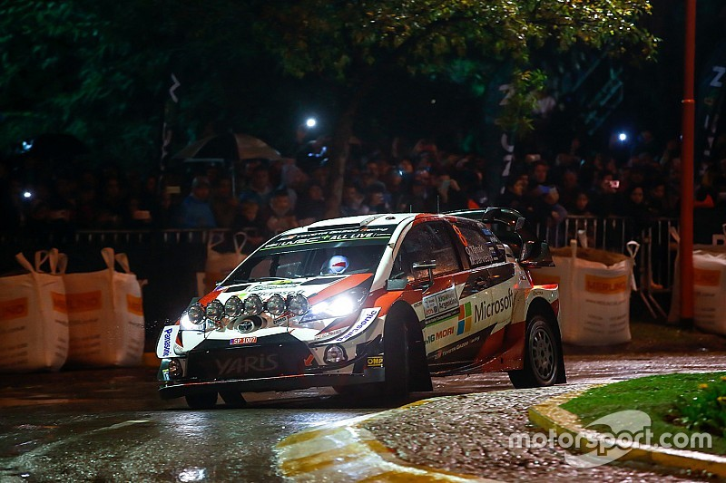 Argentina WRC: Tanak leads after opening superspecial