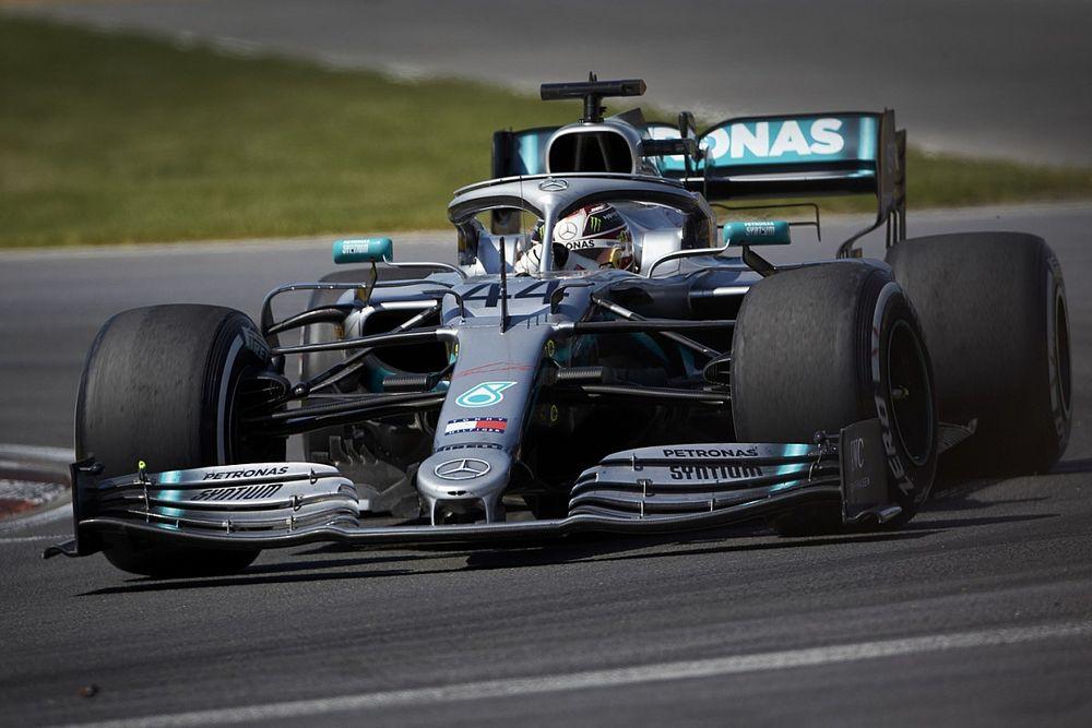 Hamilton heeft geen bezwaar tegen rentree zilvergekleurde Mercedes