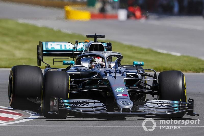 Mercedes revela la causa de la fuga hidráulica de Hamilton