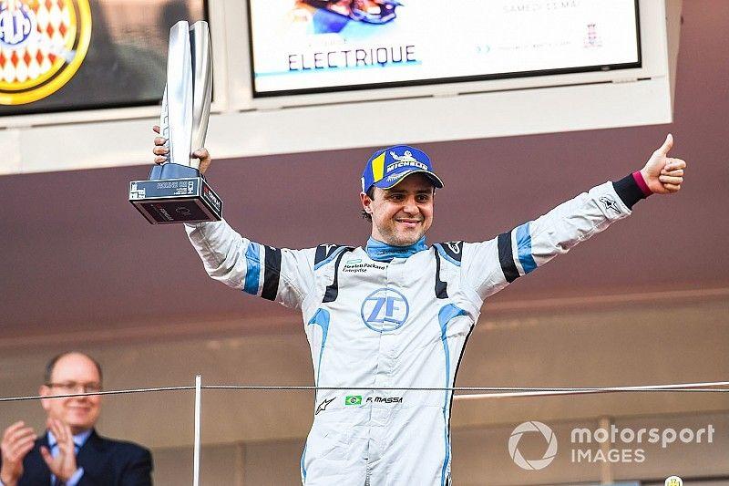 Massa logró el podio en Mónaco sin energía al final