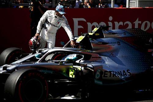 """Hamilton """"content"""" de s'être mieux """"entendu"""" avec sa Mercedes"""