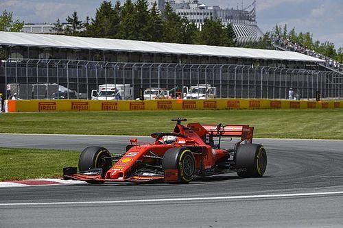 Vettel lidera dobradinha da Ferrari no último treino livre do GP do Canadá de F1