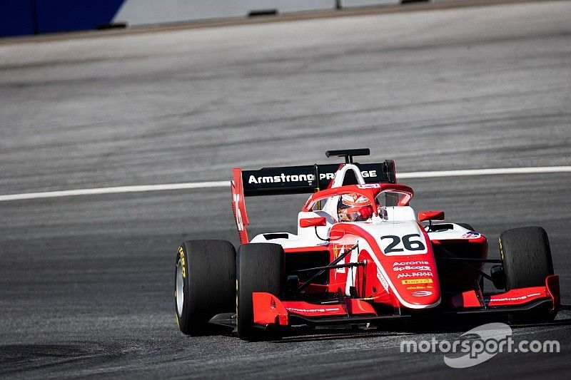 Red Bull Ring F3: Ferrari junior Armstrong on pole