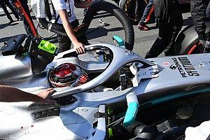 Hamilton veut changer l'affichage de son volant