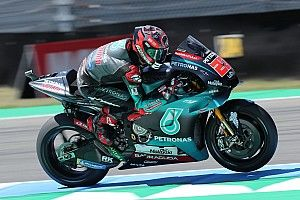 FP4 MotoGP Belanda: Quartararo tercepat lagi, Yamaha 1-2