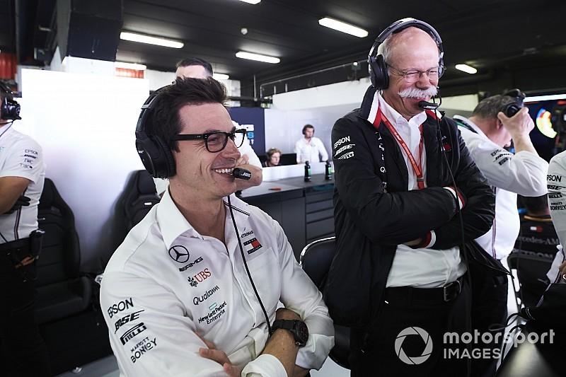 A Mercedes mostanában nem tervezi elhagyni a Forma-1-et